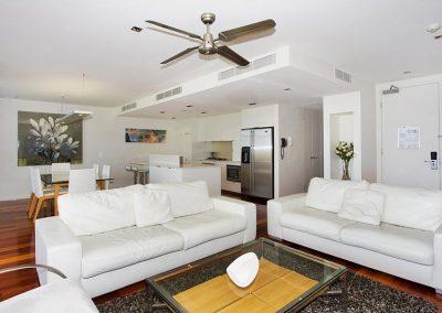 3 Bedroom Sky Apartment Lounge