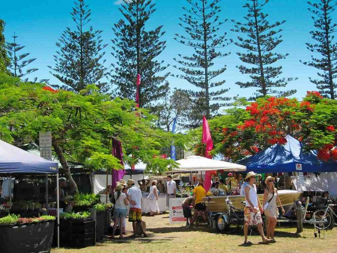 Stop By the Brunswick Heads Markets Near Our Resort