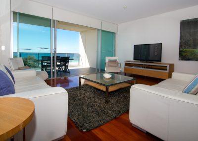 3 Bedroom Beach Front Living Room