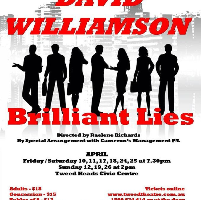 David Williamson – Brilliant Lies
